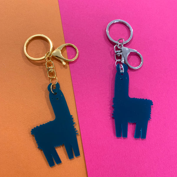 GLLAMAROUS TRANSLUCENT KEYRINGS - CHOOSE COLOUR
