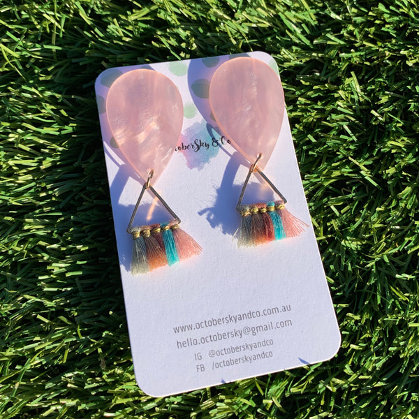 BOLD + DAINTY 'HOT AIR BALLOON' STATEMENT STUDS
