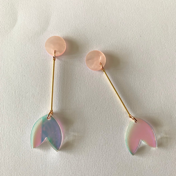 Springtime Splendour Dangles - CHOOSE COLOUR