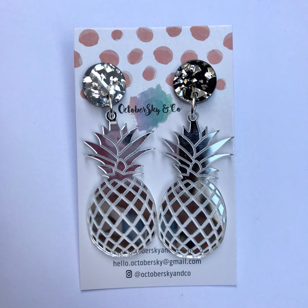 Pineapple Polly Dangles - CHOOSE COLOUR