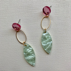 Luscious Leaves Dangles - CHOOSE DESIGN