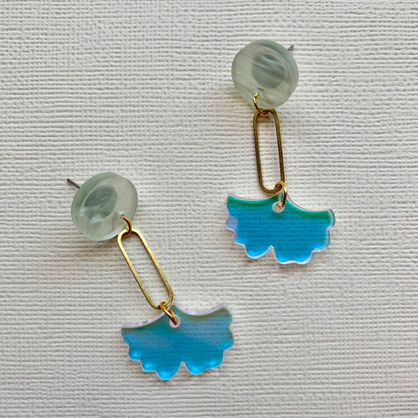 Gingko Leaf Dangles - CHOOSE DESIGN