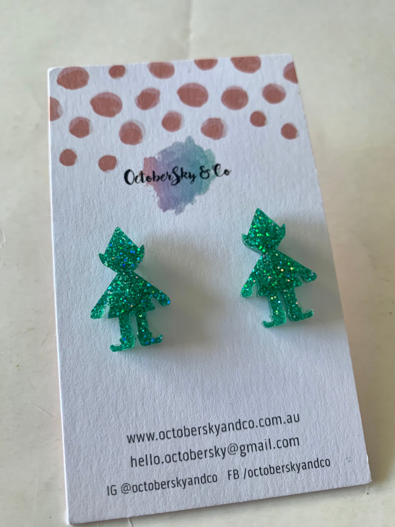 ELFIN' STUDS - CHOOSE COLOUR