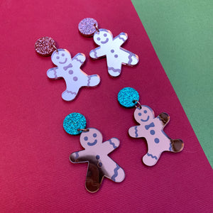 MR & MRS GINGY Dangles - CHOOSE COLOUR & FINISH