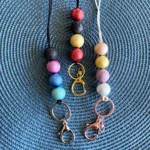 Shimmer Glimmer Lanyard - CHOOSE COLOUR