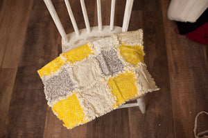 Yellow Rag Quilt