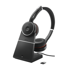 Jabra Evolve 75 UC Stereo with Charging Stand