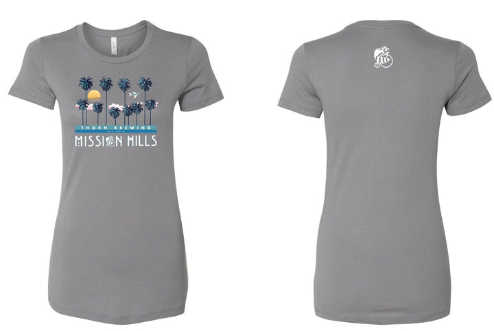 Mission Hills Short Sleeve Women's Tee - Thorn Brewing
