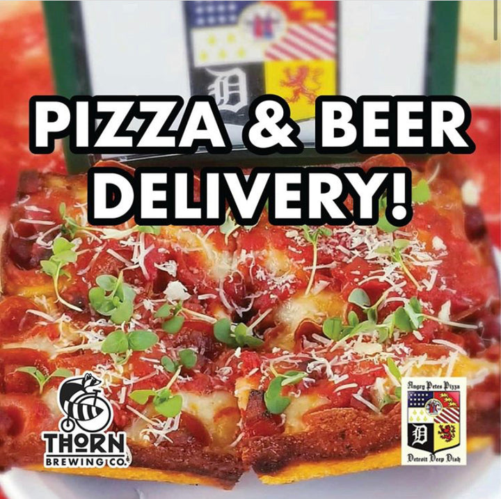 Angry Petes Pizza & Beer Delivery (Friday's Only) - Thorn Brewing