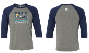 Mission Hills Baseball Tees - Thorn Brewing