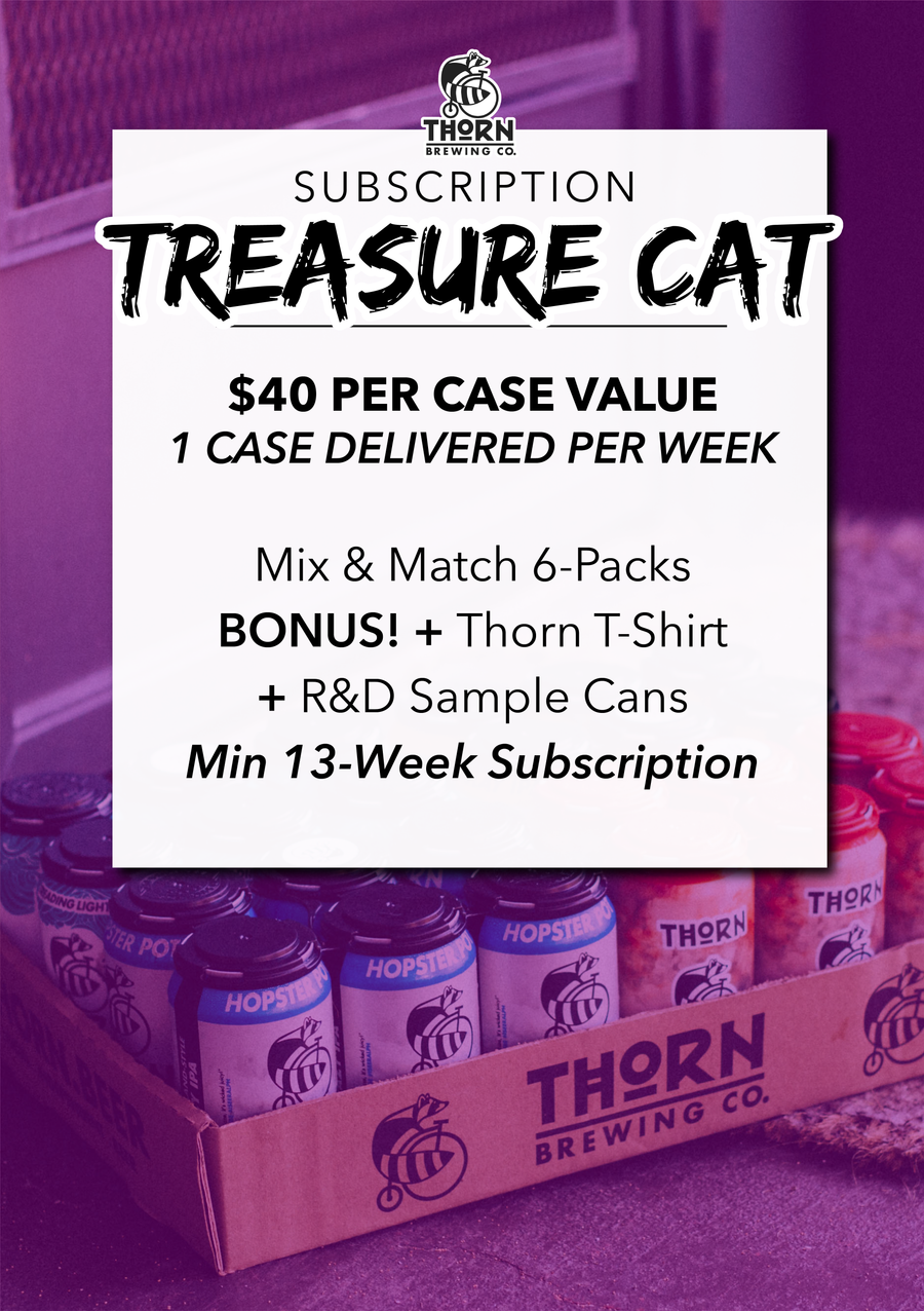 Case of Thorn Beer — Delivered / Weekly