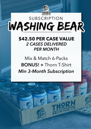 Two Cases of Thorn Beer — Delivered / Monthly
