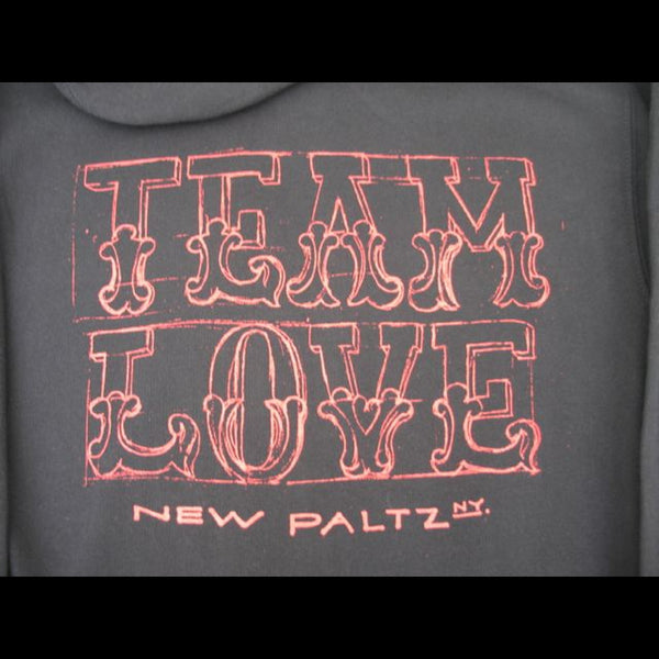 Team Love Tee Two Hoodie