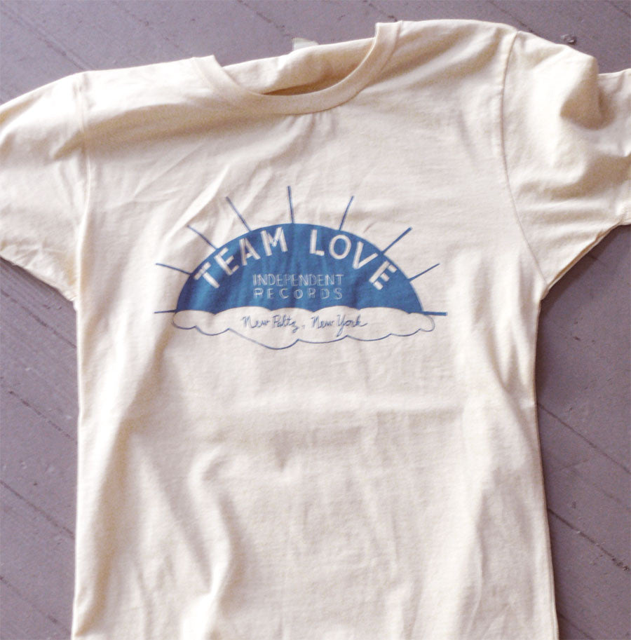 New Paltz Sunset Tee (women's white)