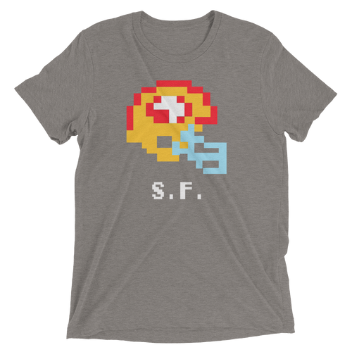 San Francisco 49ers | Tecmo Bowl Helmet Shirt