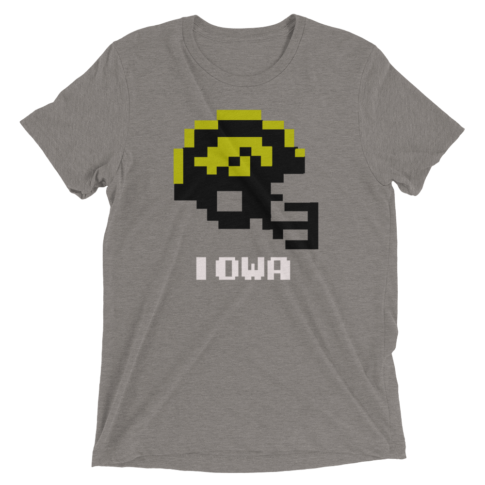 Iowa Hawkeyes | Tecmo Bowl Helmet Shirt