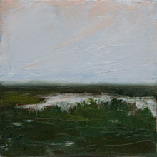 """Emerald Marsh"" 5x5 inch Oil on Canvas"