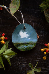Cloud Ornament #7