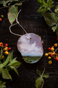 Cloud Ornament #4