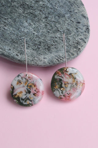 'Garden Picnic 3' Resin Earrings
