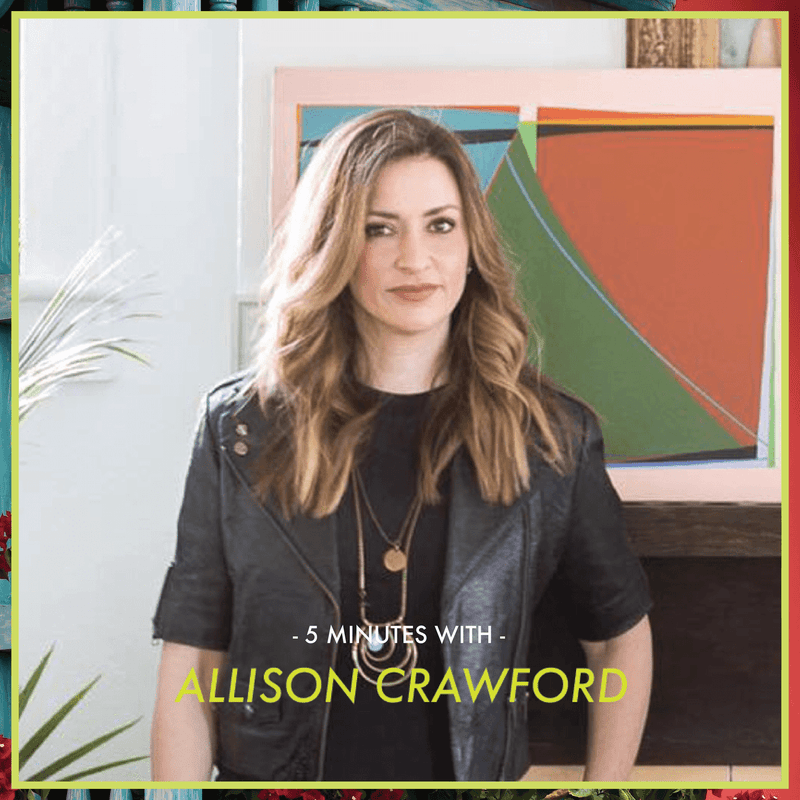 5 Minutes With: Allison Crawford