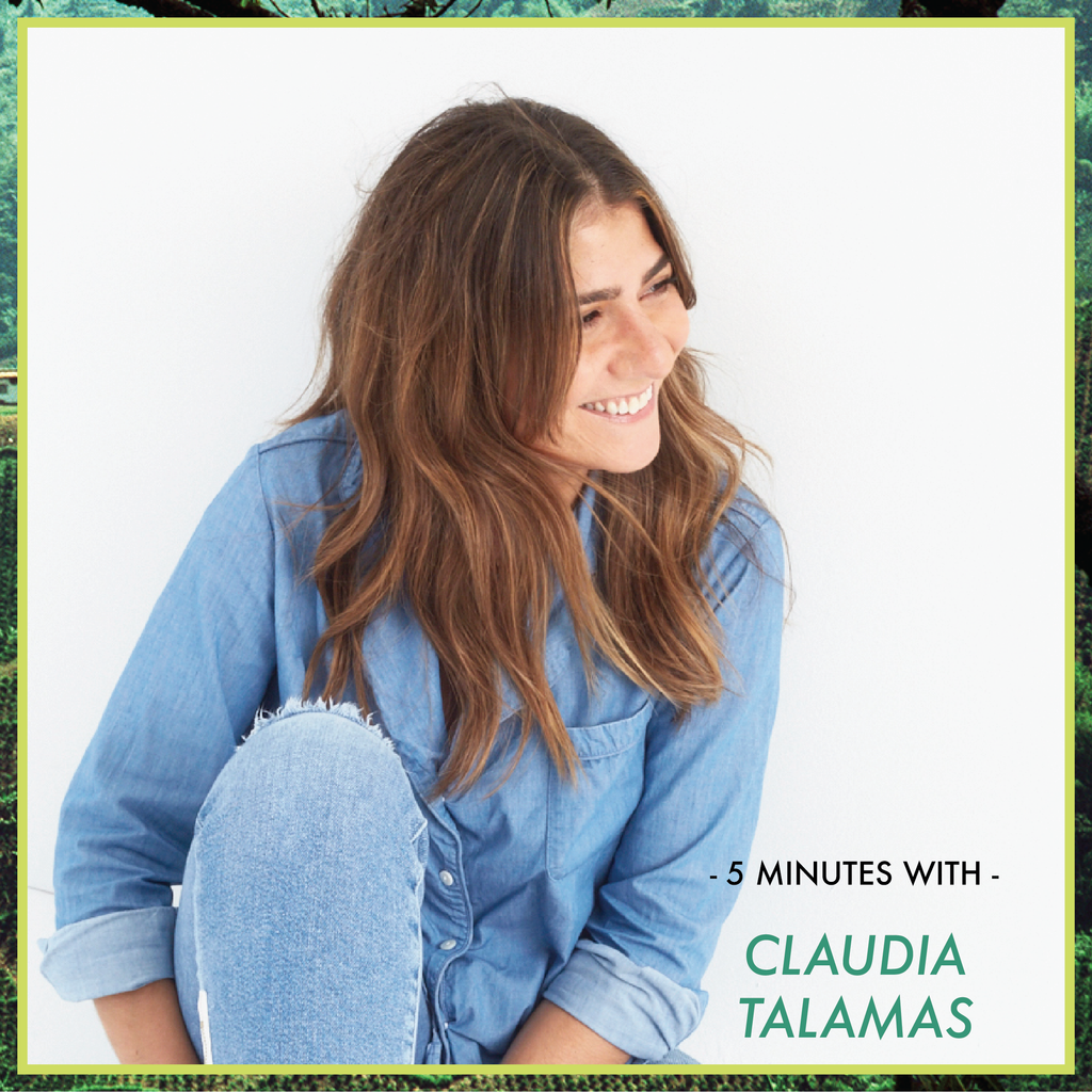 5 Minutes With: Claudia Talamas