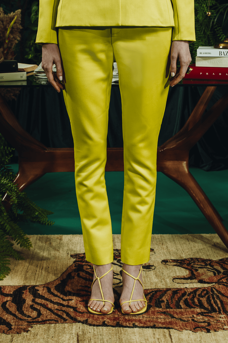 Americae Bottoms The Tailored Cigarette Pants