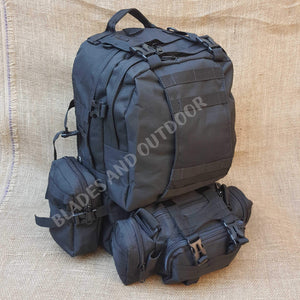 50 litre combination hiking bag