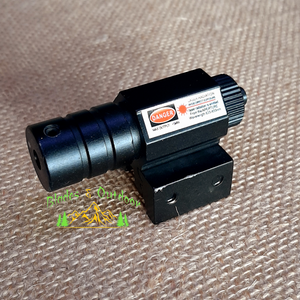 Red laser for pistol - small