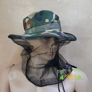 Hat Soft top with mosquito net