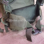 65 litre hiking bag ... with aluminum frame.