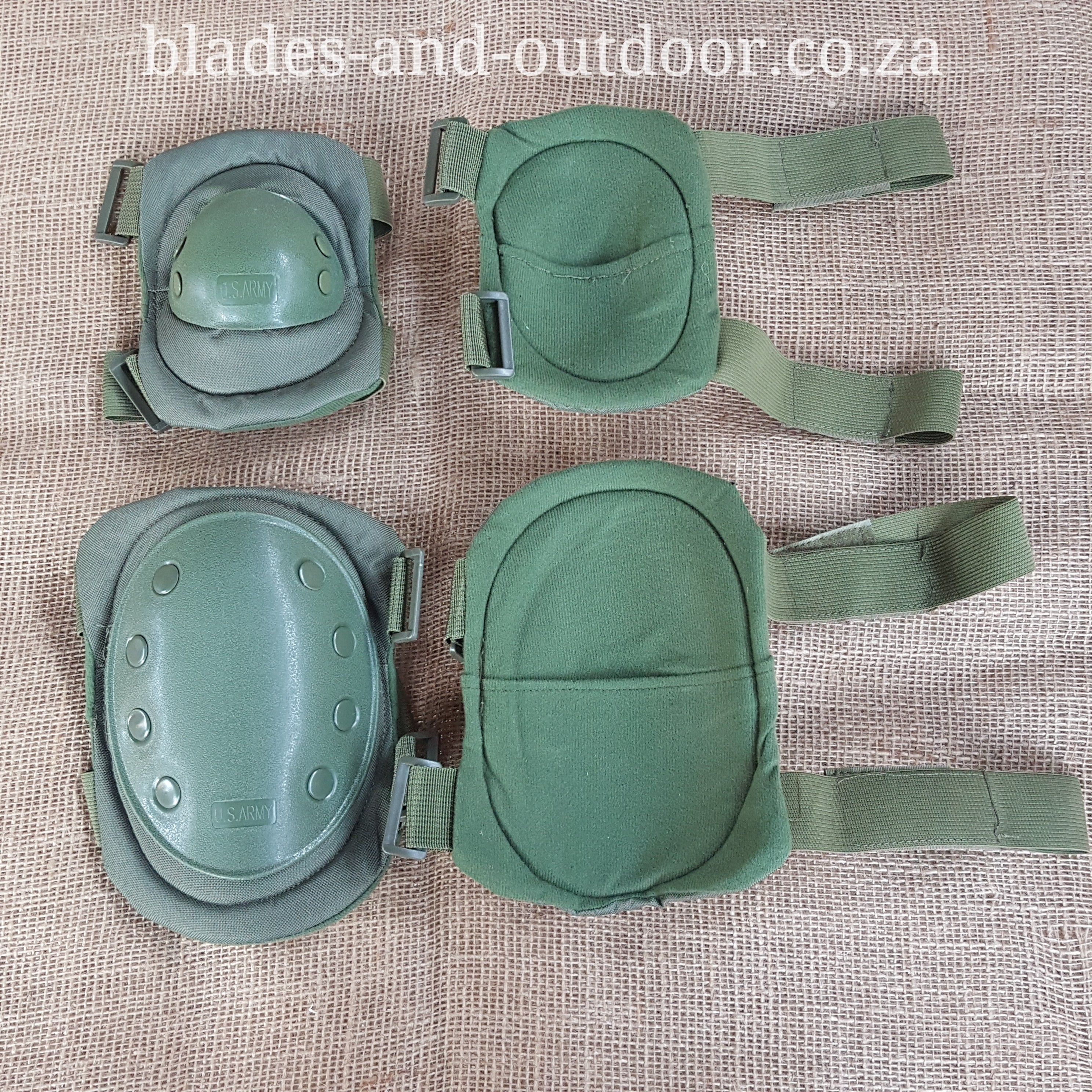 Tactical knee and elbow pads