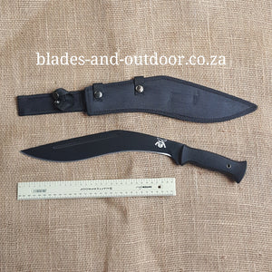 Kukri with nylon sheath