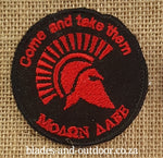 Badge Spartan - Come and take them