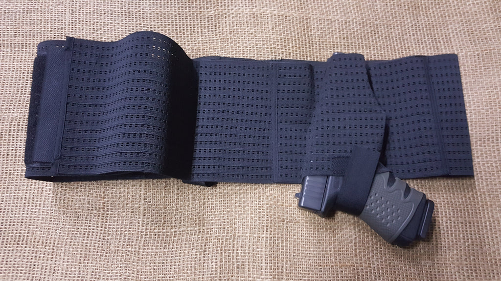 Belly holster - concealed and stretchable