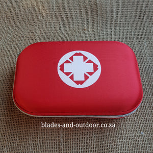 First aid kit ... with scissor and flashlight