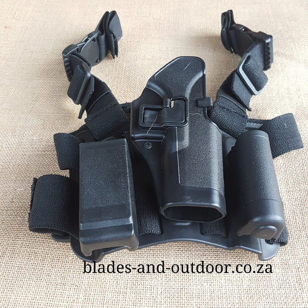 Glock Leg holster     Left and Right hand available – Blades