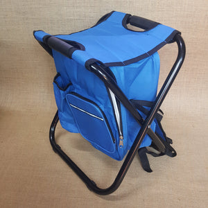 Chair and cooler backpack