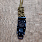 Neck knife - paracord