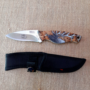 Knife - fixed blade - Stag