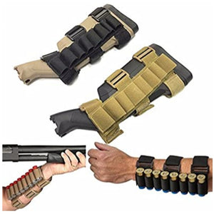 Shotgun shell holder - forearm