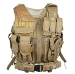 Tactical vest - cross draw