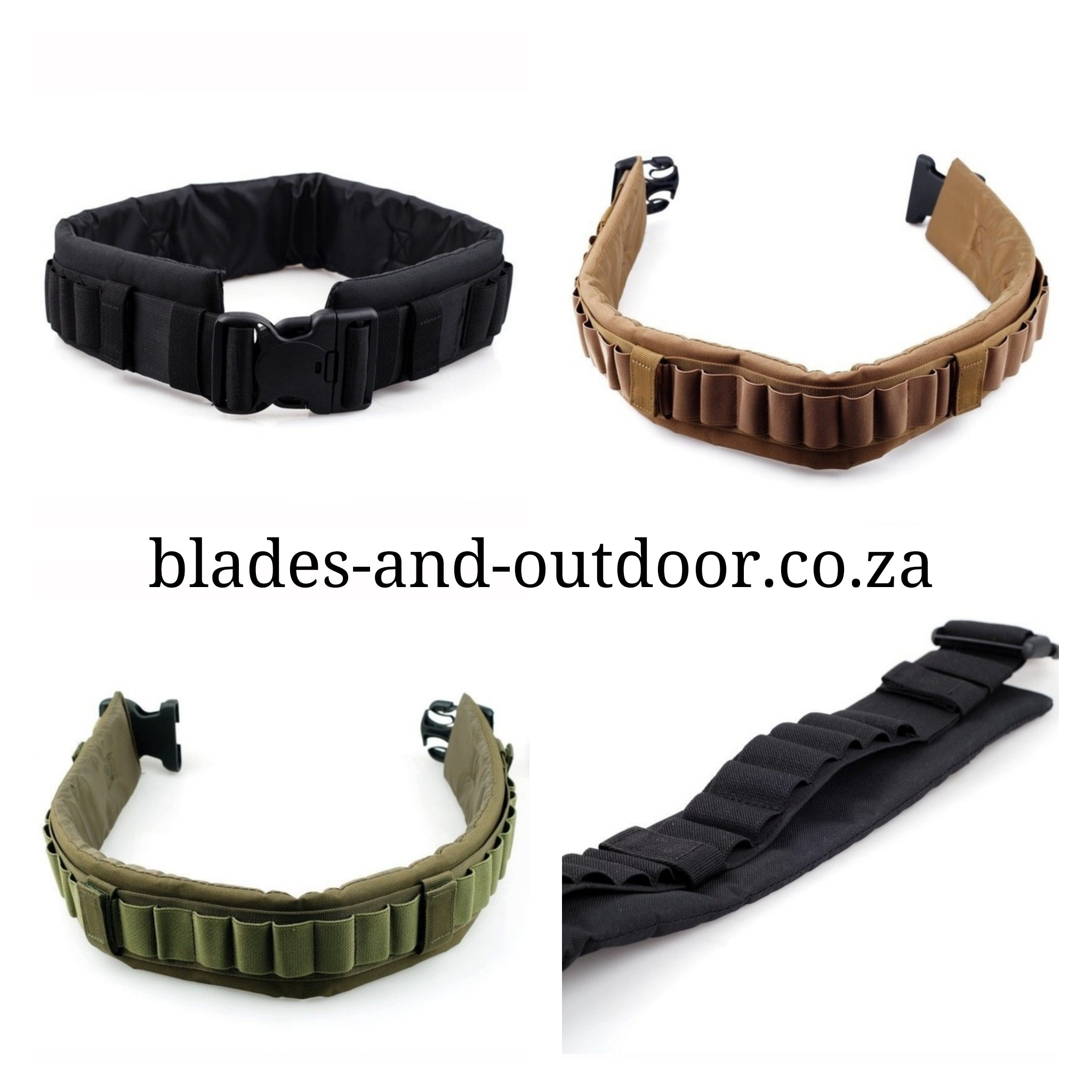25 round tactical belt