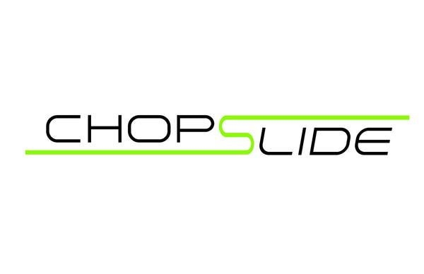 chopslide cutting board logo