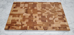 End Grain Maple Wood Cutting Board