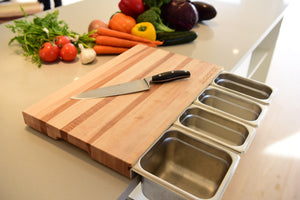 ChopSlide Cutting Board
