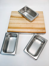 Cutting Board with Containers - Compact Size