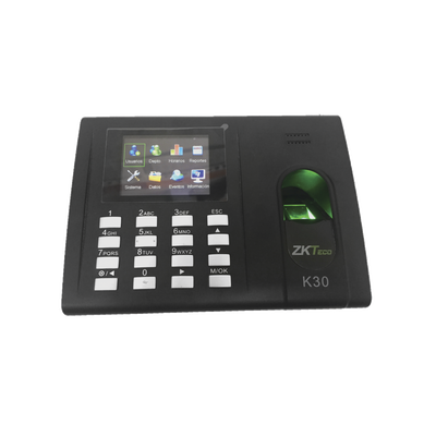 ZKTeco Fingerprint Reader and proximity card reader / TCP-IP Time Attendance & Access Control Terminal K-30