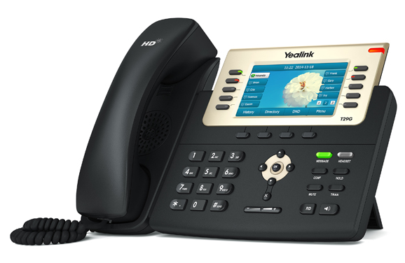 SIP-T29G - Yealink SIP-T29G Gigabit Enterprise HD IP Phone