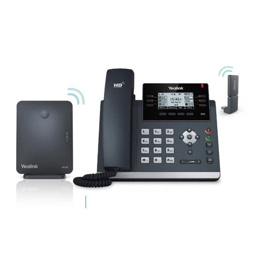 W41P - Yealink DECT Desk Cordless Phone